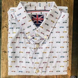 SONS OF LONDON Sports Car Dress Shirt